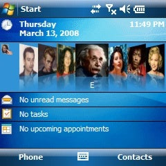 Illustration for article titled Windows Mobile Face Contact Plugin Adds CoverFlow Contacts