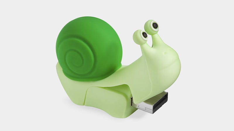 Illustration for article titled A Snail USB Drive Is the Most Adorable USB Drive