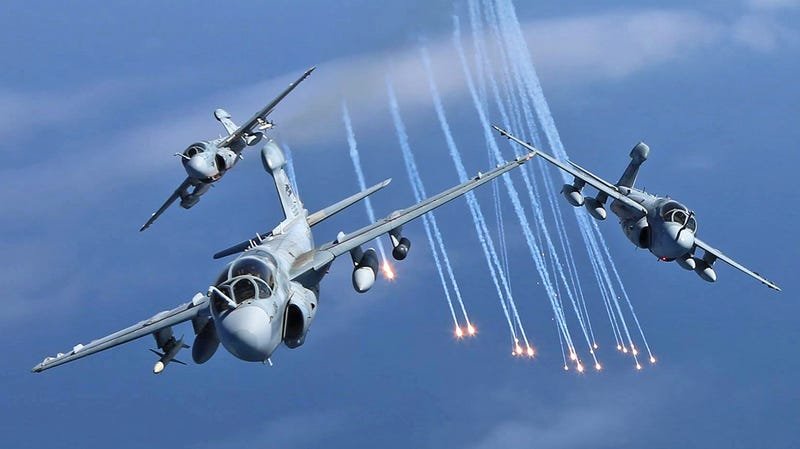 Check Out These Glorious Pictures Of Some Of The Last EA-6B Prowlers In Their Element