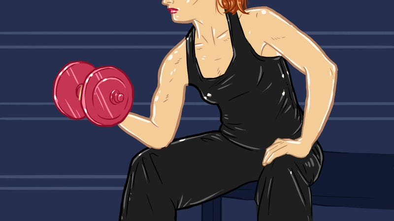 Illustration for article titled Skip the Tiny Weights: Weight Lifting Isn't That Different for Women