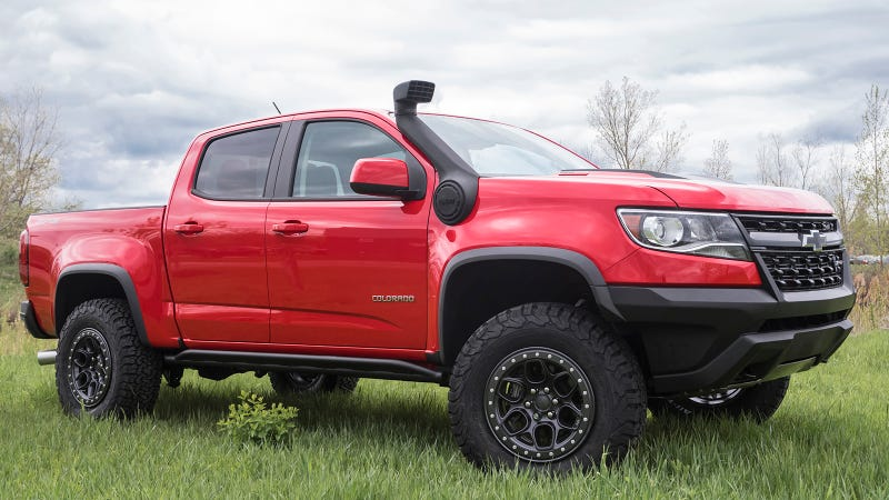 Heres Why The 2018 Chevy Colorado Zr2 Has Been Spotted With A Snorkel