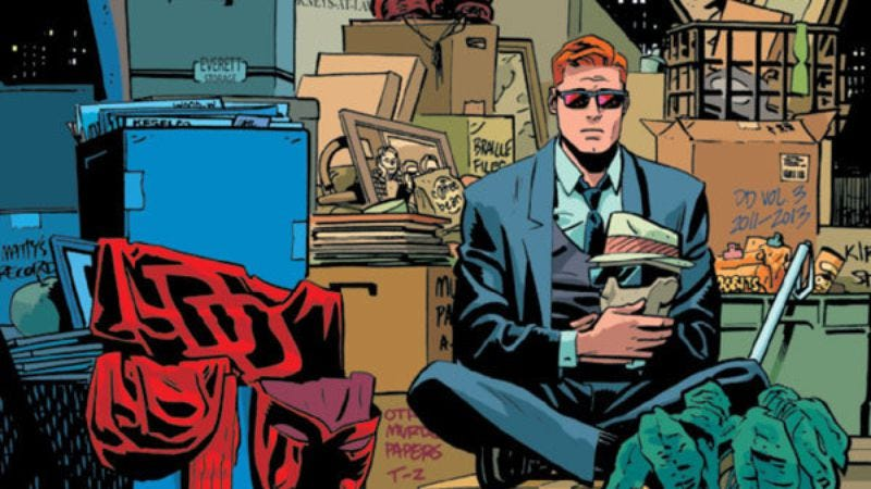 Illustration for article titled Daredevil #36 leaves NYC with a smile and a startling new status quo