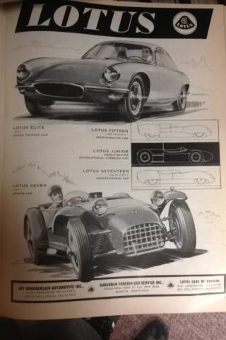 Illustration for article titled Spotted: Lotus 7 in Sports Cars Illustrated
