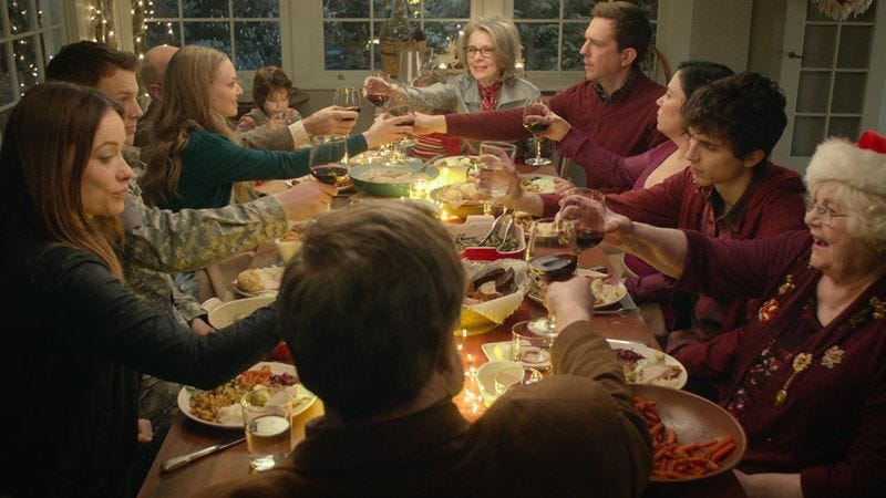 Illustration for article titled An overqualified cast won't make Love The Coopers a new holiday staple