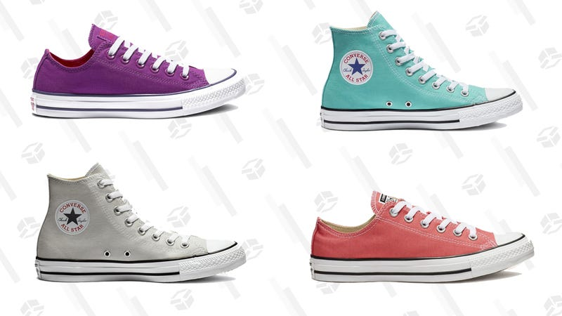Select Sneakers | $25 | Converse | Promo code COLOR