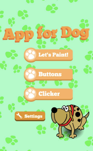 Illustration for article titled App For Dog: The First App Made Just For Dogs