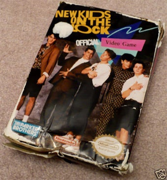 Illustration for article titled New Kids On The Block NES Box Fetches Ridiculous Sum
