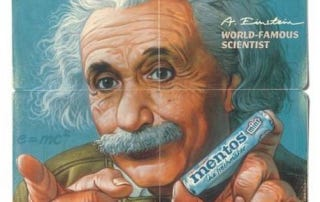 Illustration for article titled Albert Einstein, Famous Product Endorser, Hated Product Endorsements