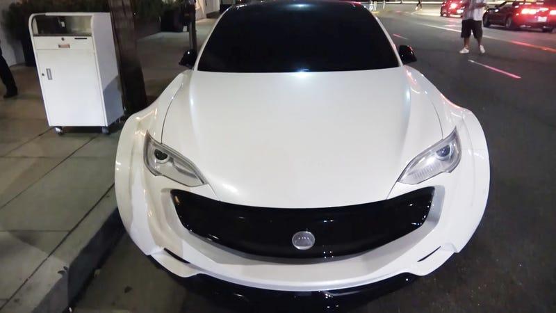 Oh God, Will.i.am Modified A Tesla