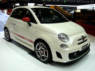 """Illustration for article titled Fiat 500 Abarth Revealed: Still Small, Now With Added """"Wicked"""""""
