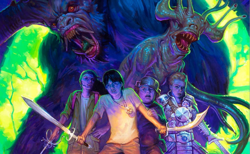 Illustration for article titled First Look At Guillermo Del Toro's YA Horror Novel, Trollhunters!