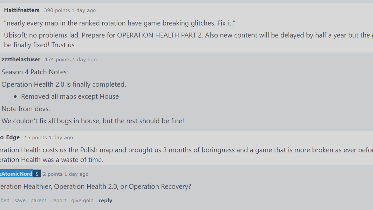 Rainbow Six Siege Is Having A Lot Of Problems Right Now [UPDATE]
