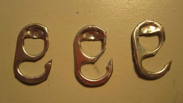 Turn a Can Tab Into a Survival Fish Hook: 3 Steps (with ...