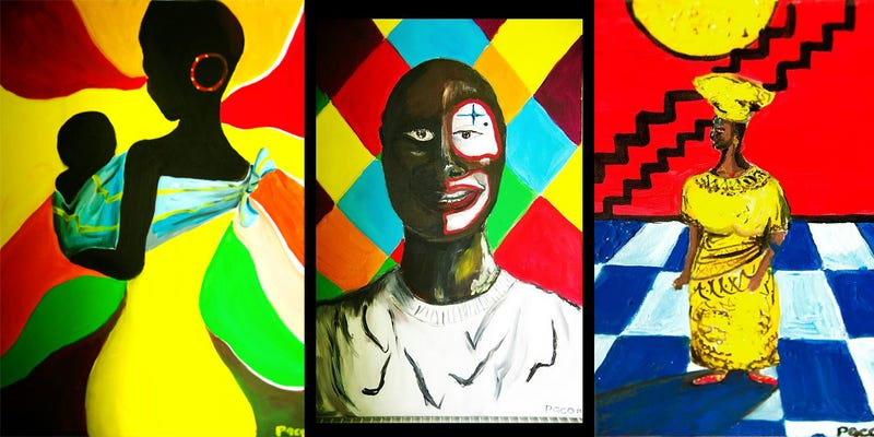 Illustration for article titled Ezennel kritikai diskurzust indítok Fekete Pákó festményeiről