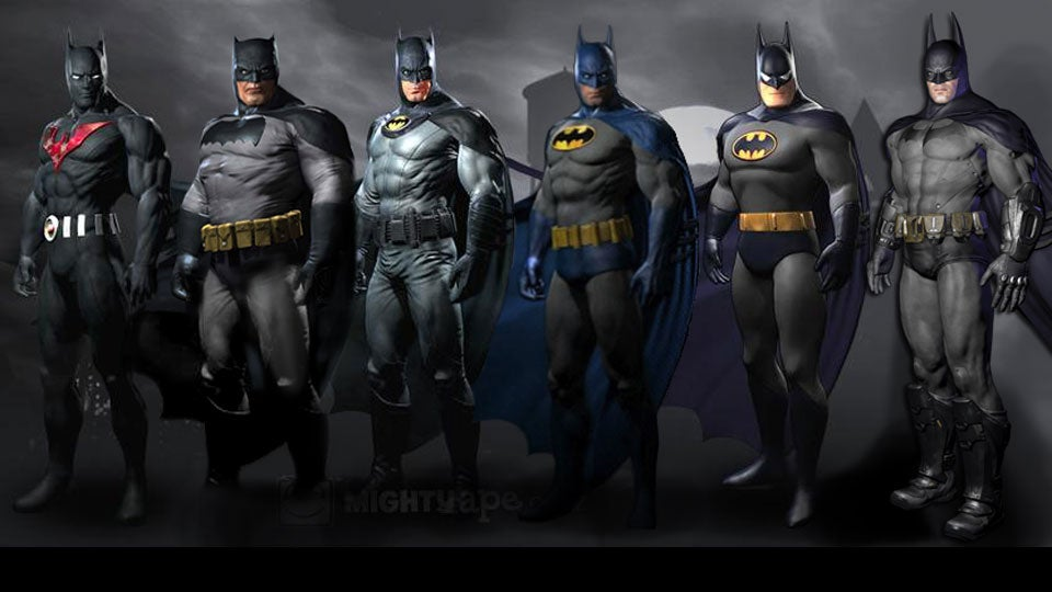 At least the number of preorder skins currently available for Batman Arkham City is certainly pushing the envelope. & Can You Possibly Have too Many Batmans? Batmen?
