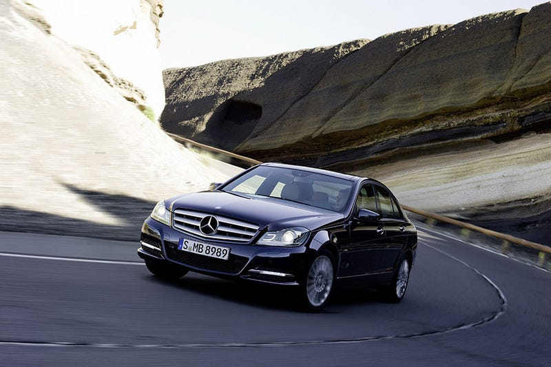 Illustration for article titled New Mercedes C-Class: More Power, More Pampering