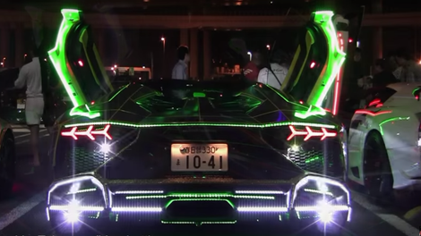 Here S What A Beverly Hills Lamborghini Party Looks Like
