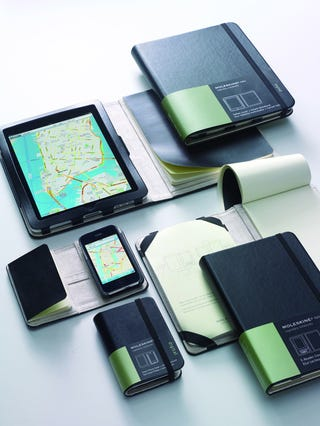 Illustration for article titled Real Moleskine Covers for iPhone and iPad