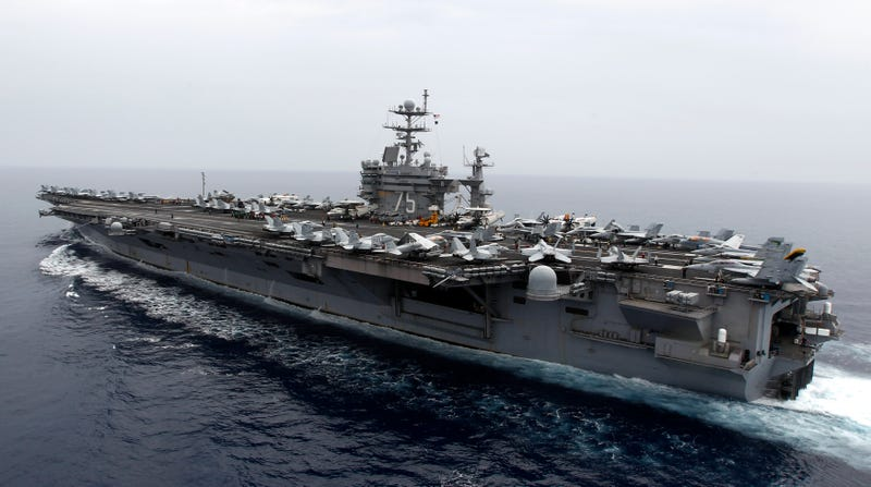 USS Harry S. Truman, currently slated for the chopping block. Is the Truman's early retirement the sign of things to come?
