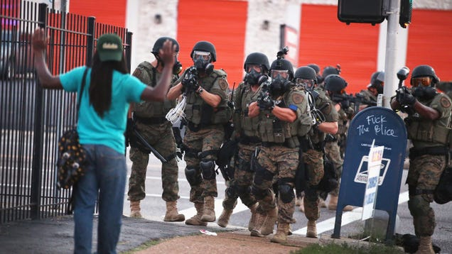 President Trump Will Reverse the Ban on Free Military Gear for Cops