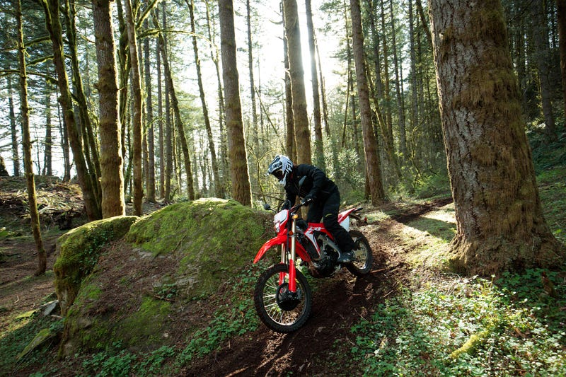 Illustration for article titled Honda Just Announced A Street-Legal 450cc Dirt Bike And The Whole World Should Rejoice
