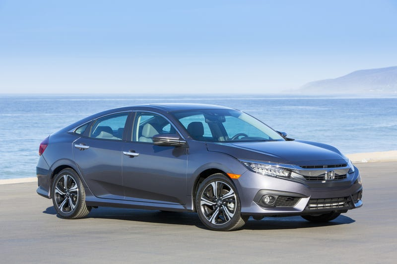 Honda Recalls 350,000 Civics For Problems With Electric Parking Brake