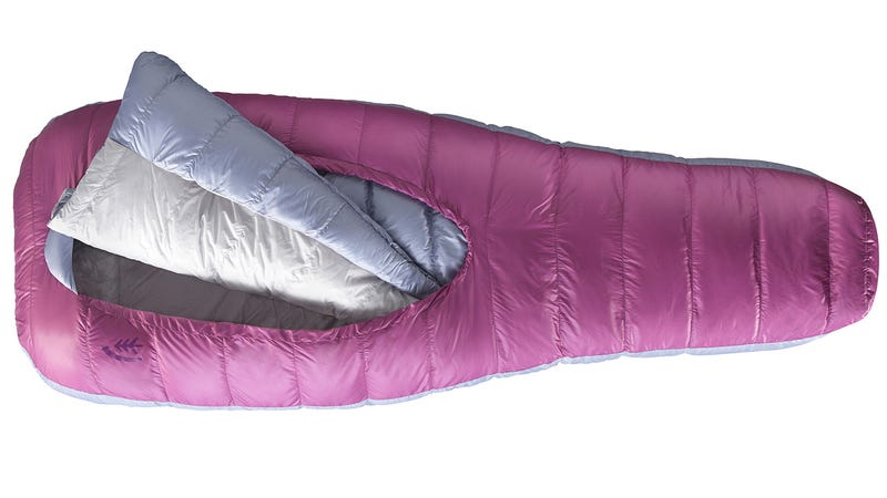 A Sleeping Bag That Ditches Zippers So You Don't Feel Like a Mummy