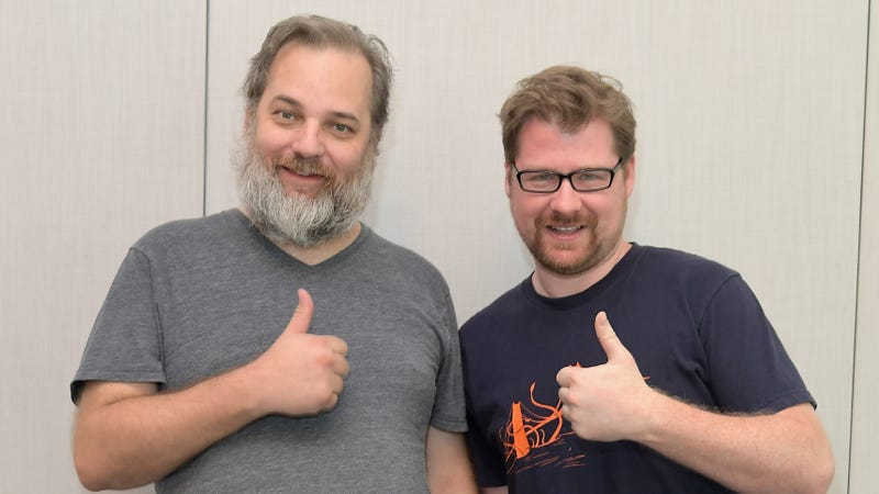 Rick And Morty creators Dan Harmon and Justin Roiland (Photo: Getty Images for TBS, Charley Gallay)