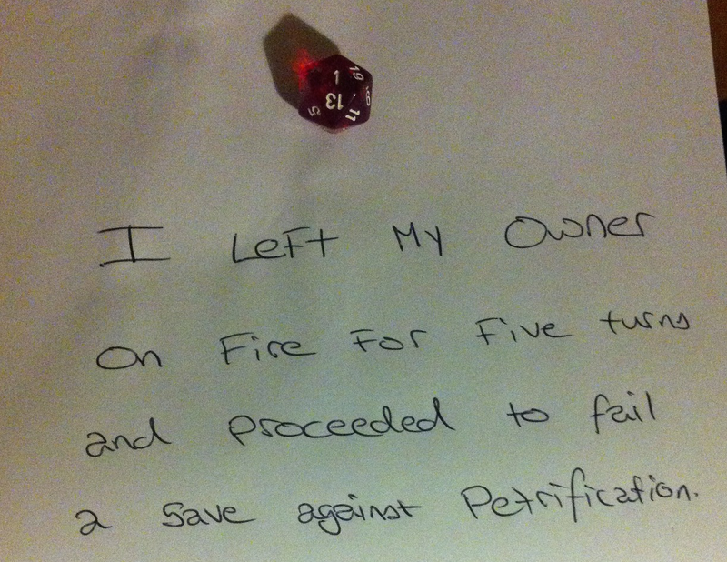 Illustration for article titled Internet Shaming, d20 Style