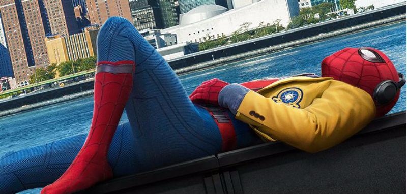 Crop of Spider-Man: Homecoming teaser poster. Image: Marvel Studios