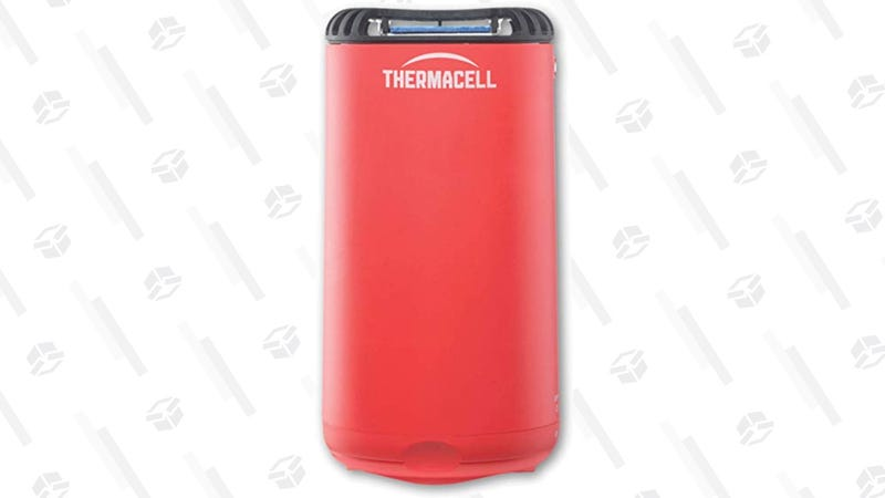 Thermacell Patio Shield Mosquito Repeller, Fiesta Red | $16 | Amazon | Clip $1.50 coupon