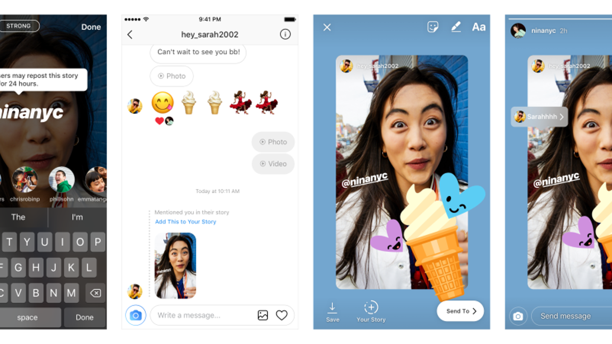 9366fec25dd20 How to Share a Friend s Instagram Story in Your Own