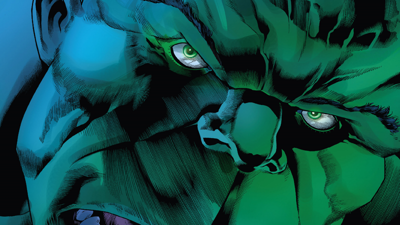 Bruce Banner lives, and so does the Hulk—more fearsome than he's been in years.