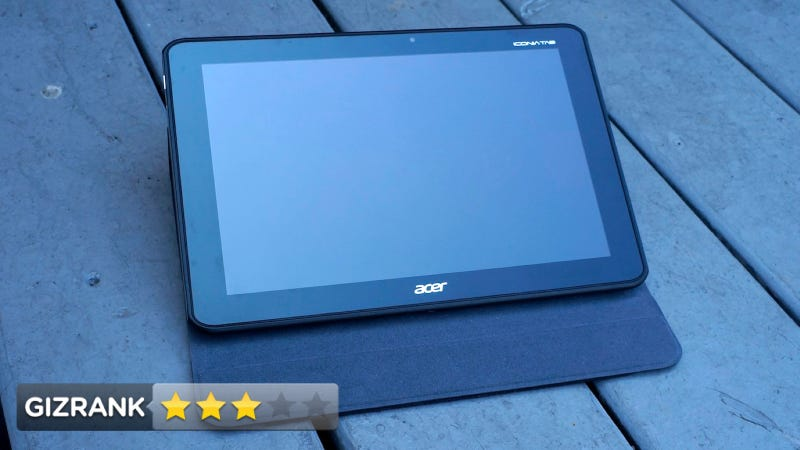 Illustration for article titled Acer Iconia Tab A700 Review: Sharp Looking, Slow Moving