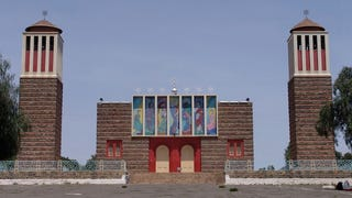 Illustration for article titled These Modernist African Churches Look Like Spaceports