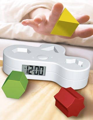 Illustration for article titled New Puzzle Alarm Clock Tests Your Early AM IQ