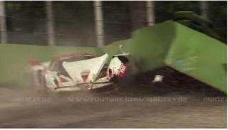 Illustration for article titled Ferrari FXX crash