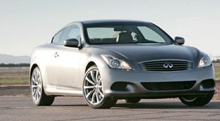 Illustration for article titled 2009 Infiniti G37 Coupe To Get AWD This Fall, Cheapskates X-static