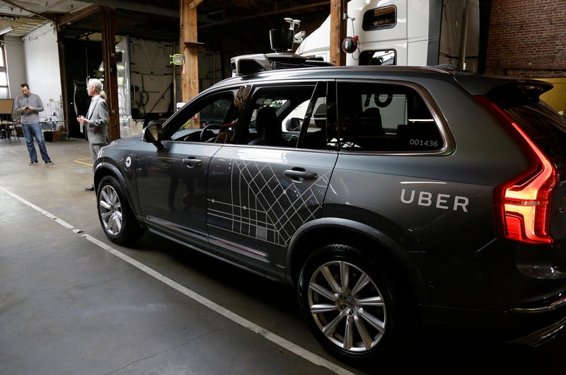Uber's self-driving cars are back in San Francisco… sort of