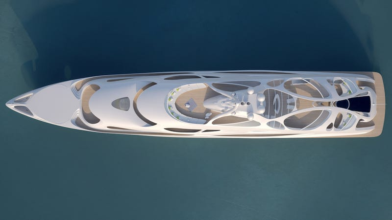 Illustration for article titled 6 Jaw-Dropping Superyachts Designed by Architects