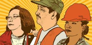 Make Deadbeat Corporations Pay. Stop Robbing Our Communities, by Melanie Cervantes (artstrike.tumblr.com)