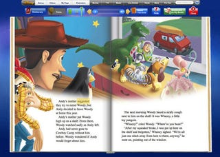 Illustration for article titled Disney Brings Ebooks To Kids Without A Standalone Reader