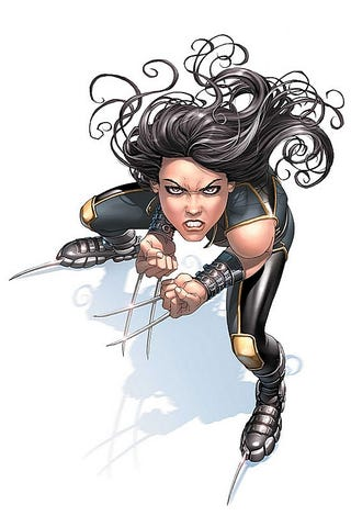 Illustration for article titled X-23 question