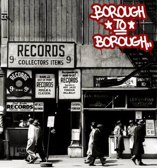Illustration for article titled Borough to Borough: A Choice Hip Hop Mix CD