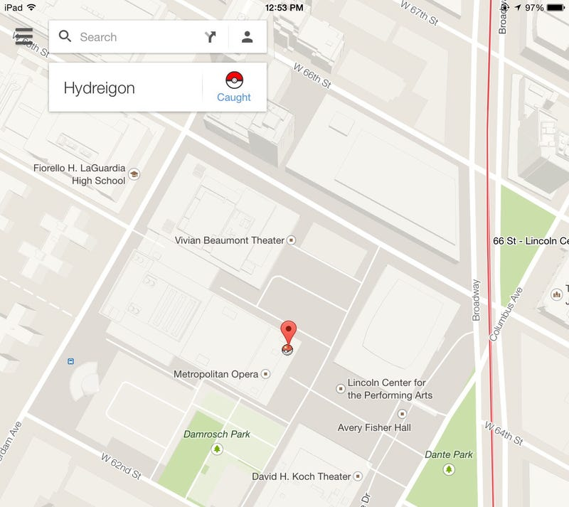 Illustration for article titled Why is there a Pokemon on my Google Map?