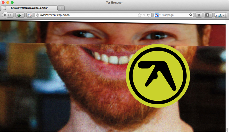 Illustration for article titled Aphex Twin Is Teasing His New Album on the Deep Web