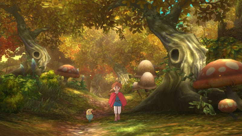 Illustration for article titled More Painfully Pretty Screens From Studio Ghibli's PlayStation 3 Game