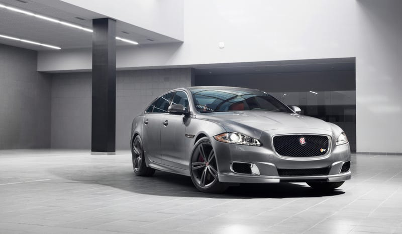 Illustration for article titled 2014 Jaguar XJR: This Is It