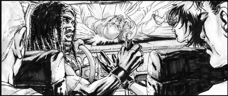Illustration for article titled Storyboards make the abandoned Neuromancer movie look like a conventional action flick