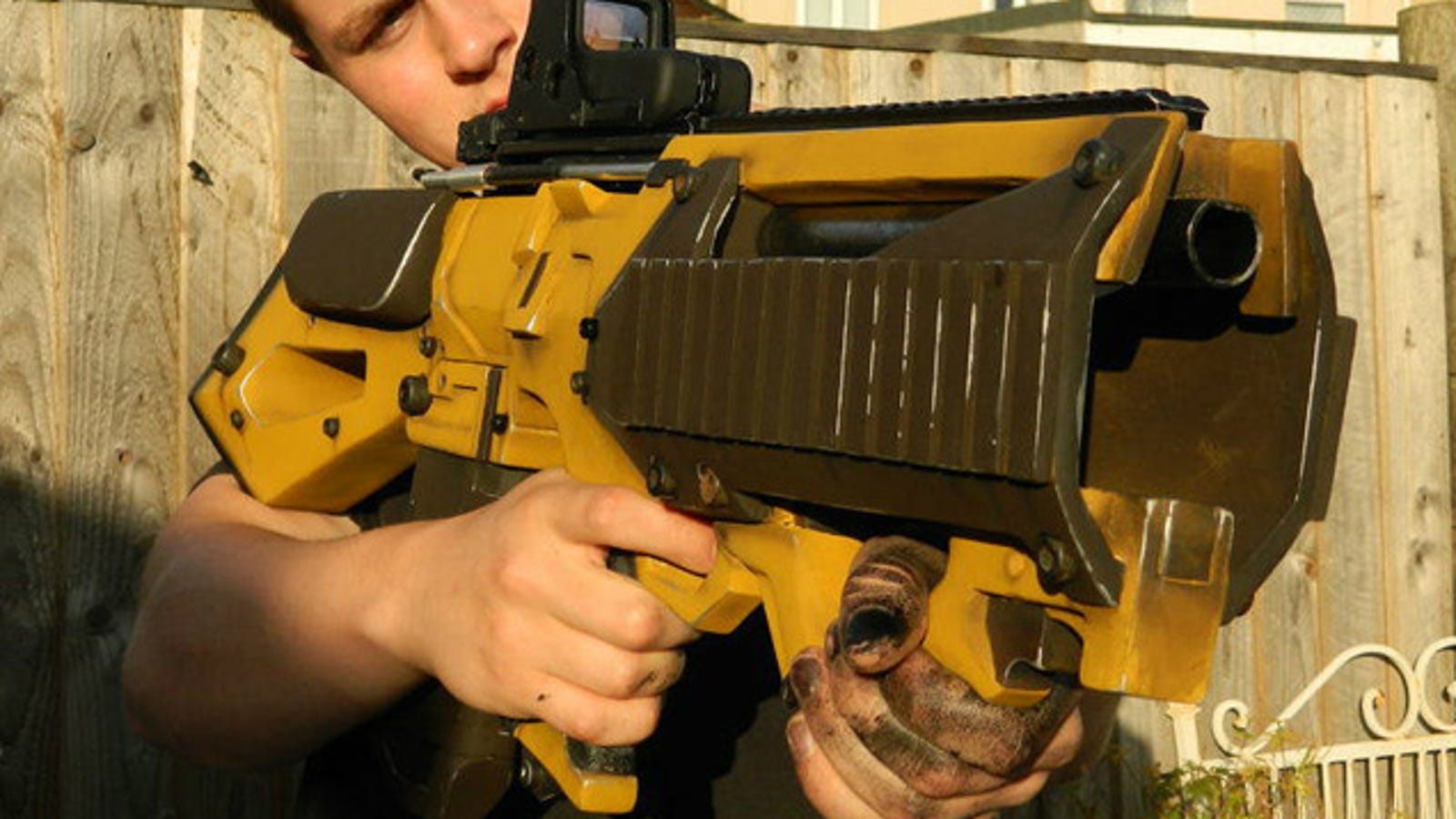 Borderlands Guns Look So Badass In Real-Life